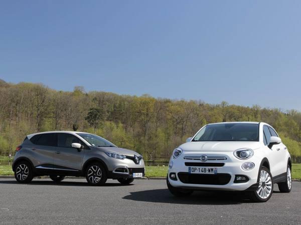 Comparatif vidéo - Renault Captur vs Fiat 500 X : Al dente