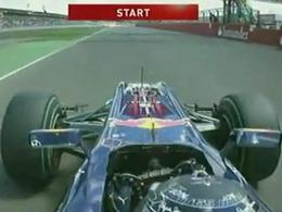 F1/GP de Silverstone - Un départ d'anthologie (vidéo)!