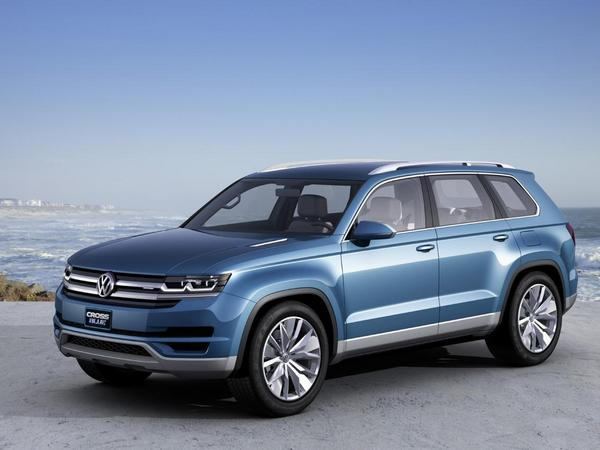 Volkswagen (re)confirme le CrossBlue pour 2016