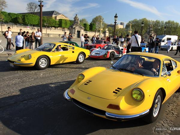 Photos du jour : Dino 246 GT (Tour Auto)