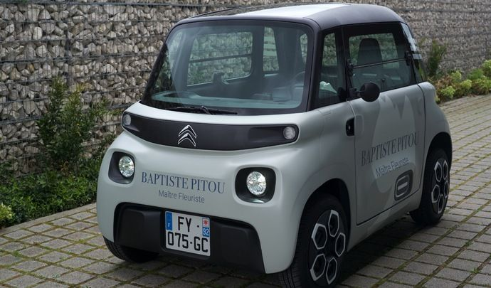 Présentation vidéo - Citroën Ami Cargo: la petite copine électrique des pros