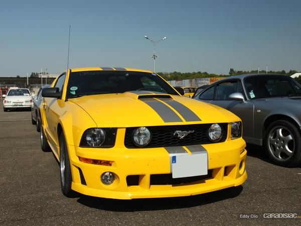 Photos du jour : Ford Mustang GT Roush