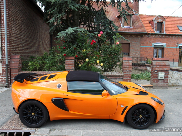 Photo du jour : Lotus Exige