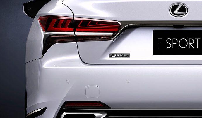 Lexus : la nouvelle LS en tenue de sport avec la version F Sport