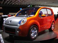 Renault Kangoo Compact Concept  en direct du salon de Francfort