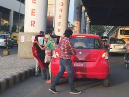 Insolite : un garage Suzuki utilise ses voitures neuves comme taxi