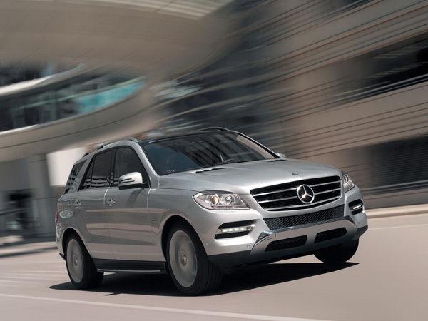 Nouveau Mercedes ML : les photos officielles