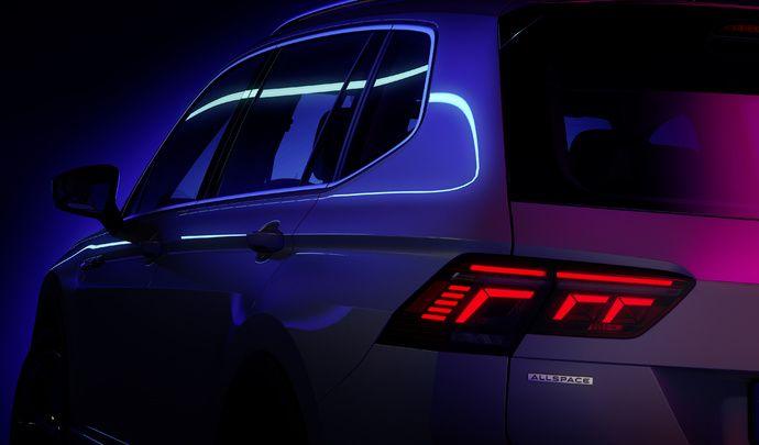 Le Volkswagen Tiguan Allspace restylé bientôt dévoilé