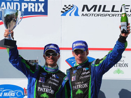 ALMS/Utah Grand Prix - 3ème victoire consécutive pour Brabham/Pagenaud et leur HPD!