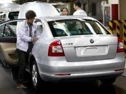 Plus d'un demi-million de Skoda produites en Chine