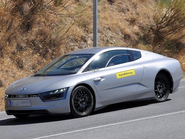 La fantastique et future Volkswagen XL1 à nouveau surprise