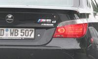 La saucisse de Francfort en direct : BMW M5d Hamann