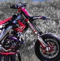 Supermotard: Honda 450 CRF Replica Luc1 en vente libre