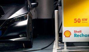 Shell ouvre sa première station française de bornes pour voitures électriques