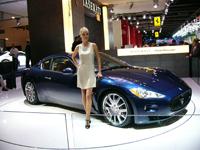 Maserati GranTurismo en direct de Francfort