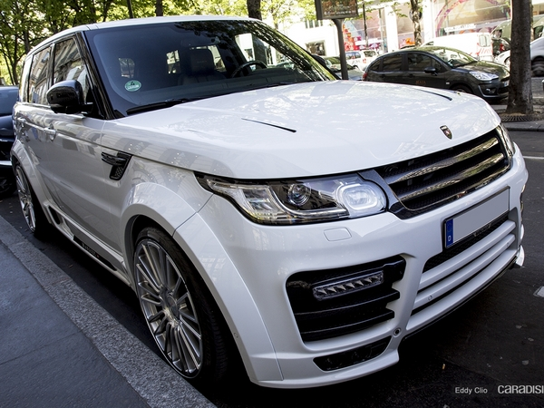 Photos du jour : Land Rover Range Rover Sport Mansory