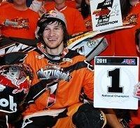 Endurocross US : Taddy Blazusiak remporte un 3ème titre AMA