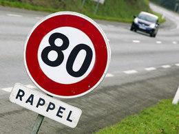 Limitation de vitesse: les 80 km/h arrivent cet été