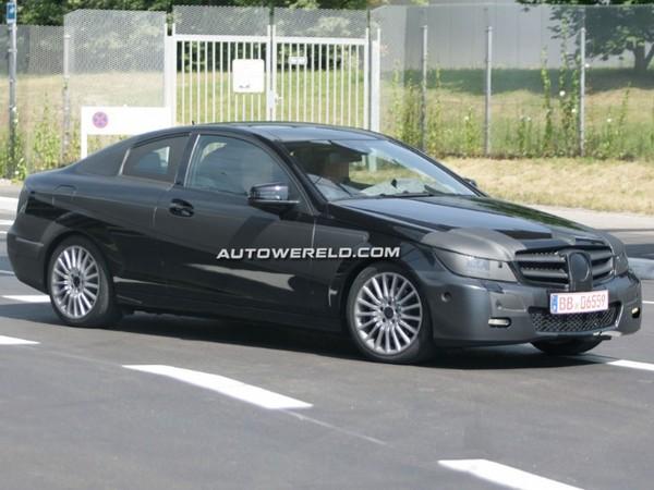 Futur Mercedes Classe C Coupé : à peine masqué