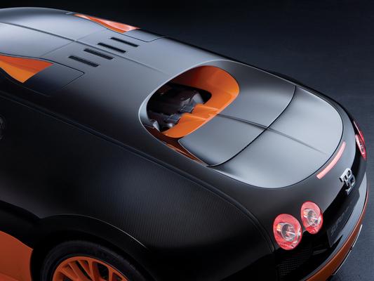 [vidéo] la Bugatti Veyron Super Sport s'anime