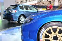 En direct de Francfort : la Subaru WRC Concept face à l'Impreza