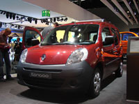 Renault Kangoo 2 en direct de Francfort