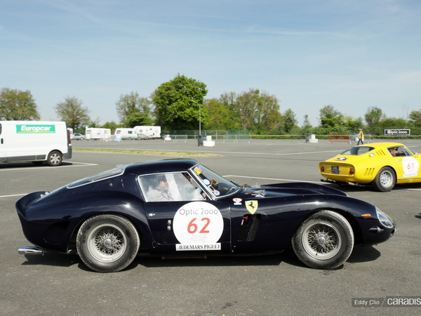 Photos du jour : Ferrari 250 GTO (Tour Auto)