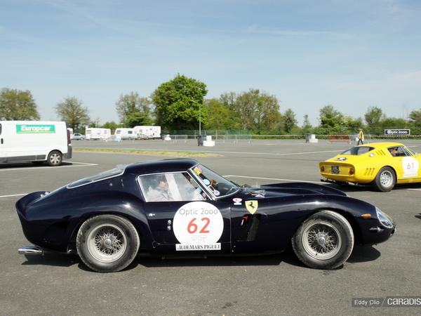 Photos du jour : Ferrari 250 GTO (Tour Auto)