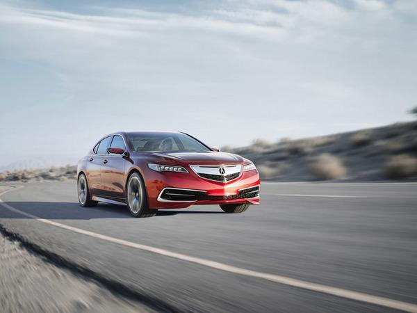 Detroit 2014 : Acura TLX Prototype, le style s'affine