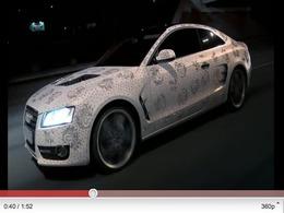 Le préparateur russe Shampa recouvre une Audi A5 de 450 000 cristaux Swarovski