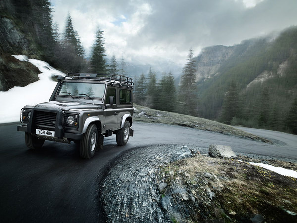 Land Rover ajoute quelques options au Defender