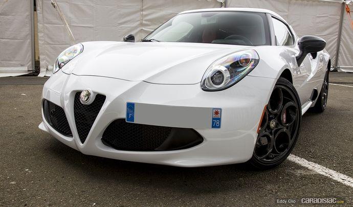 Photos du jour : Alfa Romeo 4C (Exclusive Drive)