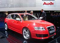 En direct de Francfort, Audi RS6/R8, j'en perds mon latin