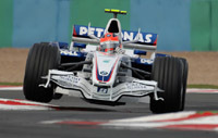 GP de Belgique : BMW Sauber