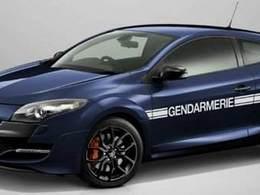 Insolite: une Renault Megane RS version limitée Gendarmerie !