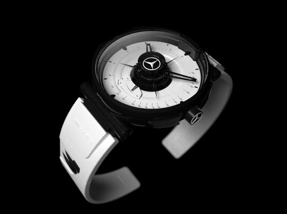Silver Arrow Concept, la montre pour SLS AMG ... qui n'existe pas !