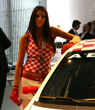 Fiat Grande Punto Abarth SS en direct de Francfort