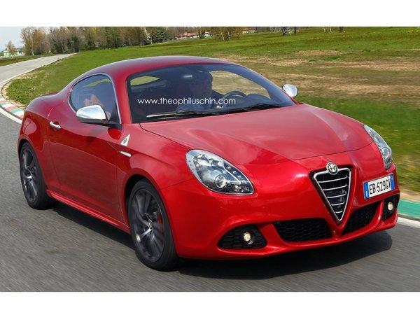 [design] Alfa Romeo Giulietta Sprint Speciale par T.Chin : mmmh