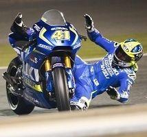 MotoGP - Tests Qatar : Aleix Espargaró tombe de haut