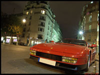 La photo du jour : Ferrari Testarossa