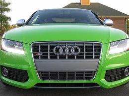 Audi S5 : et pourquoi pas en vert pomme ?