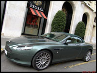 La photo du jour : Aston Martin DB9 Volante