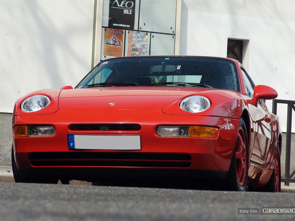 Photos du jour : Porsche 968 CS