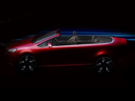 Opel Astra Cabriolet : et maintenant, le teaser