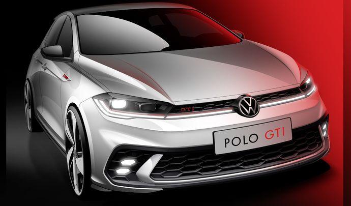 La Volkswagen Polo GTI restylée s'annonce
