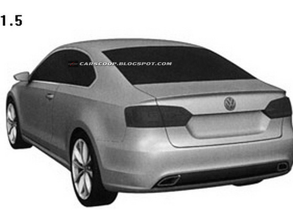 Volkswagen Jetta coupé : c'est elle