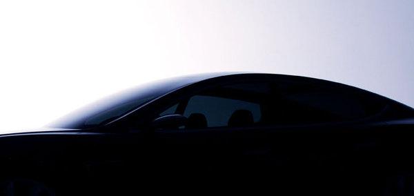 Tesla Model S : teasing 3