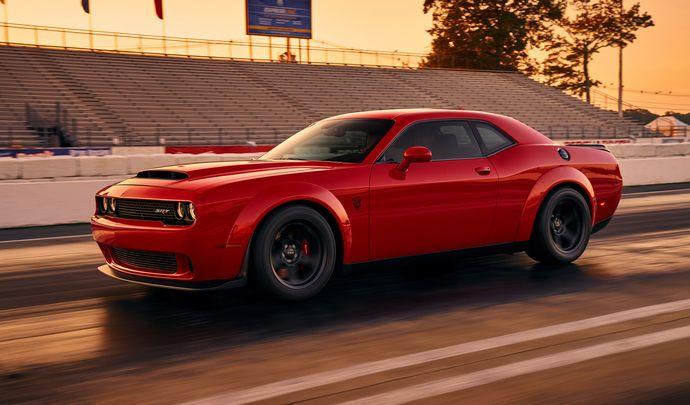 Dodge Challenger Demon : la première photo officielle
