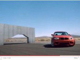 [vidéo] La BMW 1M traverse les murs canadiens