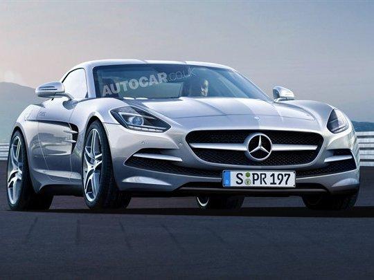 Future Mercedes SLC : six cylindres et deux turbos